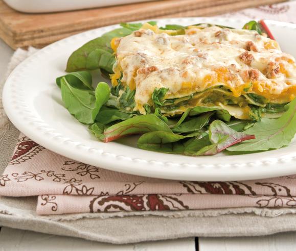 Lasagna abóbora