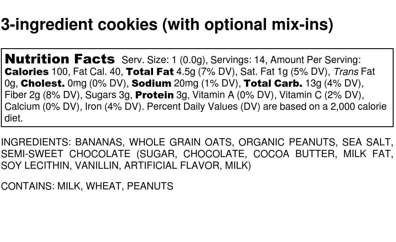 informação nutricional