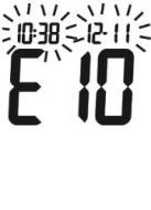 Erro E-10
