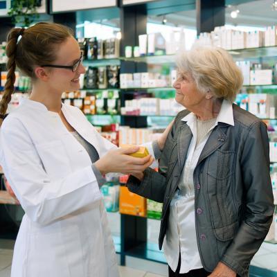 Conversa na farmácia