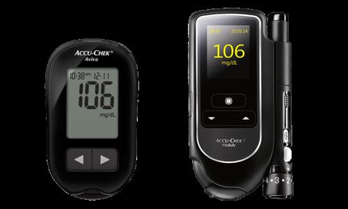 Accu-Chek Aviva e Accu-Chek Mobile